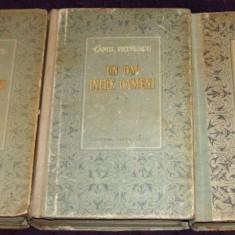 Carte Editie princeps - Camil Petrescu - Un om intre oameni (3 volume), roman princeps 1953-1955-1957, prima editie