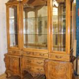 REDUCERE 20%.---Superba vitrina Rococo, lemn de par.. 1880-1900. - Mobilier