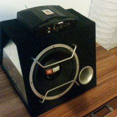 Amplificator auto si subwofer JBL Altele