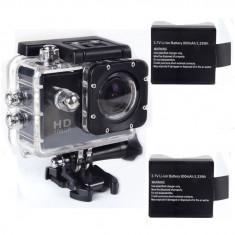Camera Video actiune, Sub 2 inch, Card Memorie - Camera Sport SJ4000 Originala, FullHD 1080P, 12MPX+Baterie Extra, Similara GoPro