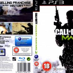 Joc original Call Of Duty 7 Modern Warfare 3 pentru consola Sony PS3 Playstation 3 - Jocuri PS3 Activision, Shooting, Toate varstele, Multiplayer