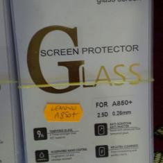 Folie sticla Lenovo A850+ A850 PLUS super folie temperata si securizata de acum nu se mai sparge ecranul LCD tempered glass - Folie de protectie Lenovo, Anti zgariere
