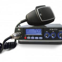 Resigilat - Statie radio CB TTi TCB-771, alimentare 12V-24V si squelch automat