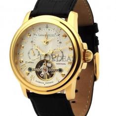 Ceas de lux Calvaneo 1583 Evidence Diamond Gold, original, nou, cu factura si garantie! - Ceas barbatesc Calvaneo, Mecanic-Automatic