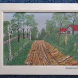 Tablou Pictura pe panza - Dicu GG - Peisaj - Pictor strain