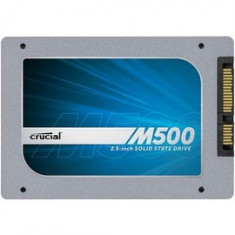 Crucial UK SSD 960GB M500 SATA3, 2.5'', 7mm, sigilat, import UK