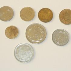 Lot / set / colectie - 8 monede TURCIA - AUNC - 1967 - 2003 - LIRE TURCESTI - 2+1 gratis toate produsele la pret fix - CHA1211, Asia