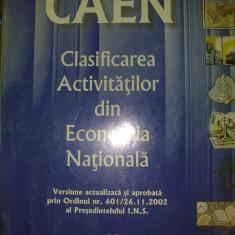 Clasificarea Activitatilor din Economia Nationala - Carte Dreptul muncii