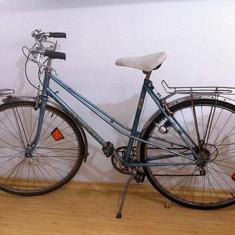 Bicicleta de dama PEUGEOT, 28 inch, Otel, Bleu