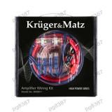 Elemente montaj audio auto - Kit cabluri amplificator auto, Kruger&Matz, KM0011-400351