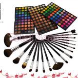 Trusa Machiaj Profesionala 180 culori Fraulein38 Stardust In Glam + 18 pensule - Trusa make up