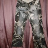Pantaloni Just Cavalli 100% originali cu holograma - Pantaloni dama Roberto Cavalli, Marime: M/L, Culoare: Multicolor, Lungi