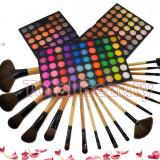 Trusa Machiaj profesionala 180 culori Stardust in Glam Fraulein38 + 18 pensule - Trusa make up