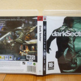 Dark Sector  (PS3) ( ALVio) + sute de alte jocuri PS3 ( VAND / SCHIMB )