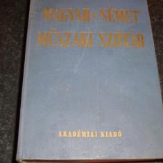 Dictionar tehnic maghiar german - 1300 pag - Nagy / Klar - Budapesta 1985 - ed Academiei Maghiare - Enciclopedie