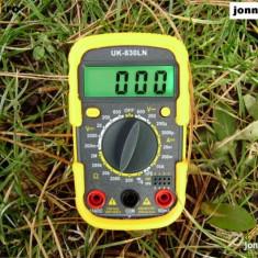 Multimetre - Aparat Masura UK-DT 830LN Multimetru Ampermetru Voltmetru Produs de Calitate NOU