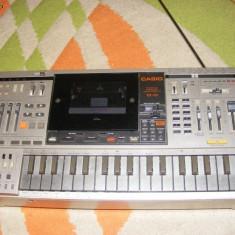 Orga casio KX-101 radio casetofon casio boombox clapa casio