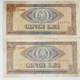 5 Lei 1966 Serii Consecutive