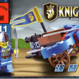Jucarie arbaleta si figurina tip lego, tip lego, 42 piese, Enlighten 1011