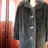 vand haina imitatie nurca, absolut noua,lunga facuta pe comanda,cu serge pe interior,impecabila fara niciun defect.