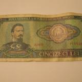 Bancnota 50 lei - 1966