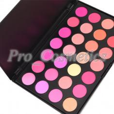 Trusa Blush profesionala MAC 28 culori paleta blush fard obraz trusa make up