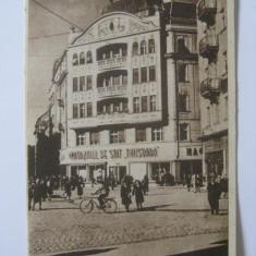 Carti Postale Romania dupa 1918, Circulata, Printata - RARA! C.P. MAGAZINUL DE STAT TIMISOARA DIN 1952