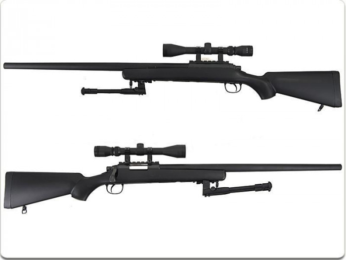 Pusca Remington M700 aer comprimat, LEGALA 100%-Fara Autorizare, F.PUTERNICA, Full METAL, Sniper airsoft,pistol+ Super BONUS in Val. de 90 Lei  !!! foto mare