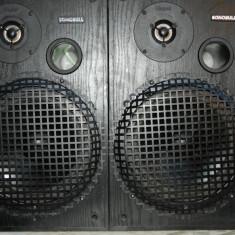 Boxe MAGNAT SONOBULL pe 2 cai, in sistem bass reflex