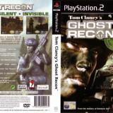 Joc original Tom Clancys Ghost Recom pentru consola PlayStation2 PS2 - Jocuri PS2 Ubisoft, Actiune, Toate varstele, Multiplayer