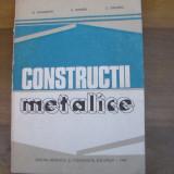 Carti Constructii - Constructii metalice / 1982