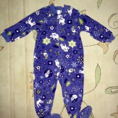 Haine Copii 1 - 3 ani, Pijamele - Pijama polar cu urs polar, marca Childrens Place, unisex 24 luni