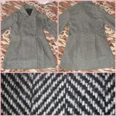 Palton dama, Gri - PALTON DE IARNA