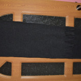 Fular negru unisex