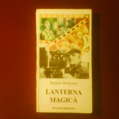 Ingmar Bergman Lanterna magica, editie princeps - Carte Cinematografie