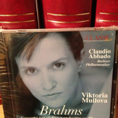 BRAHMS - CONCERTO PER VIOLINO / V. MULLOVA (1994/PHILIPS)-CD NOU/SIGILAT) - Muzica Clasica universal records