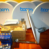 Antena satelit universala OFFSET Famaval SP50 - 80cm LNB CADOU