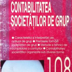 CONTABILITATEA SOCIETATILOR DE GRUP - Margareta Trasca, Constanta Iacob - Carte Contabilitate