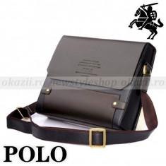 POLO - Geanta din piele pentru laptop - Geanta laptop, Geanta de umar
