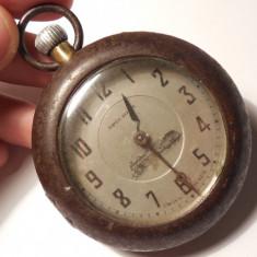 """RAR! VECHI CEAS MECANIC DE BUZUNAR """"SPECIOSA"""" LOCOMOTIVĂ REȘIȚA, SWISS MADE! - Ceas de buzunar vechi"""