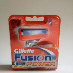GILLETTE FUSION POWER ( rezerve 4 buc )