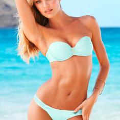 Costum de baie Victoria's Secret, 100% ORIGINAL ~ Livrare cca 10 zile ~ Aducem pe comanda orice produs de la Victoria's Secret USA, Marime: XS, S, M, L, Culoare: Bleu