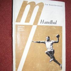 HANDBAL - TEHNICA SI TACTICA - IOAN KUNST GHERMANESCU - Carte Hobby Sport