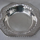 Frumos centru de masa argintat si marcat EPNS, Ornamentale