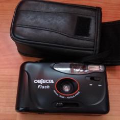 Objecta Flash - 30mm - Focus Free cu film - husa piele - Aparat de Colectie