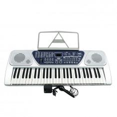 KEYBOARD/ORGA ELECTRONICA PROFESIONALA CU 54 TASTE, MP3 PLAYER STICK USB, AFISAJ.
