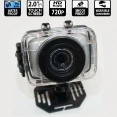 CAMERA FOTO/VIDEO WATERPROOF PT.FILMARI IN APA, PE BICICLETA, MOTOR, IN CONDITII EXTREME., Subacvatica, CMOS, Integrat, 2 - 3, Stabilizator imagine