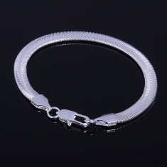 Bratara din argint - Bratara argint 925 + cutie cadou; 21 cm lungime