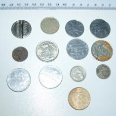 Monede Straine - LOT MONEDE VECHI . 13 BUC