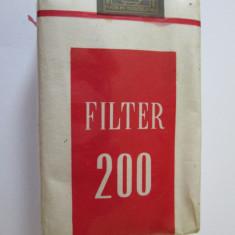 Pachet tigari - PACHET NOU TIGARI COLECTIE FILTER 200 DIN ANII 70